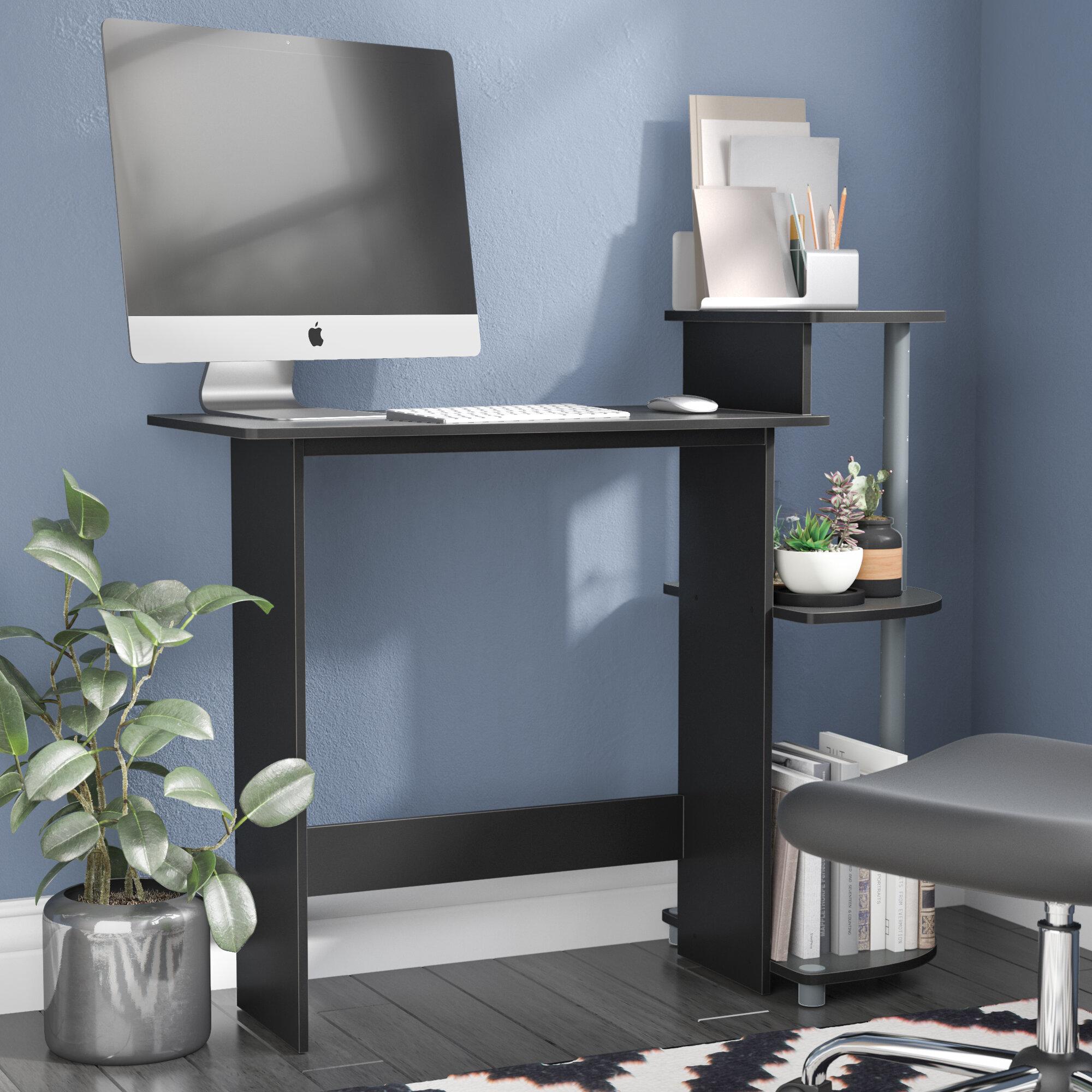computer pc p piranha quality trim corner compact office workstation home desk shelves with for shelf