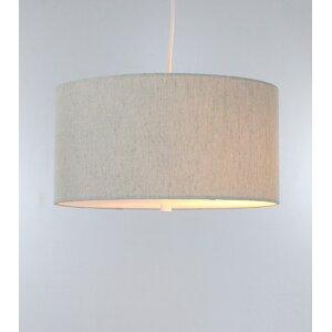 Kimbell Swag Plug-In 2-Light Drum Pendant