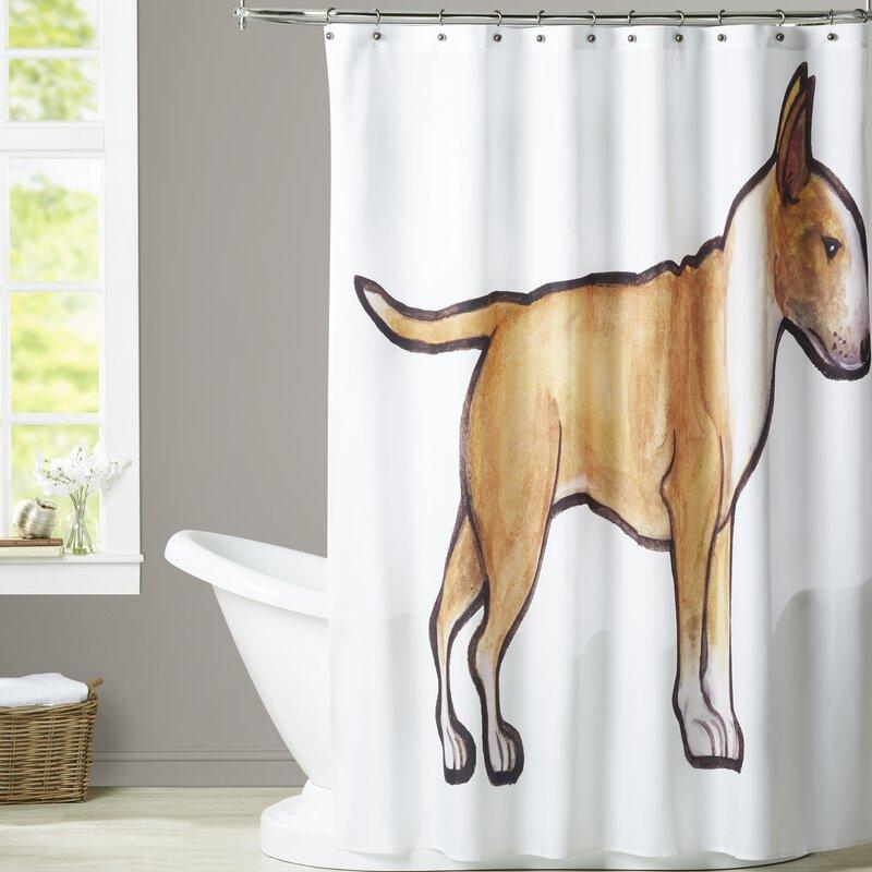 Rosen English Bulldog 2 Shower Curtain