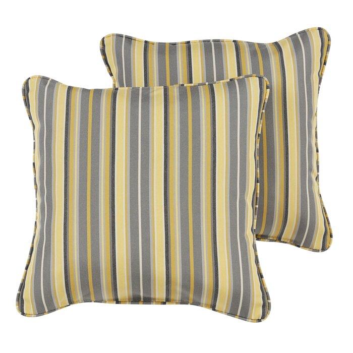 Catherine Indoor/Outdoor Sunbrella Throw Pillow
