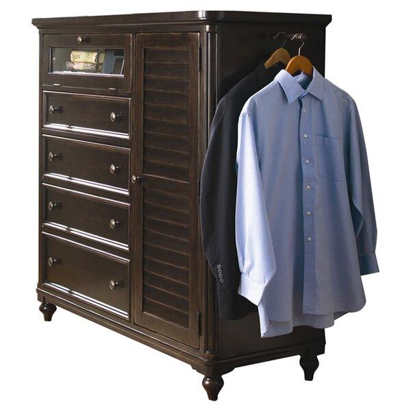 Paula Deen Home Steel Magnolia 4 Drawer Gentleman S Chest