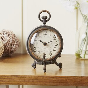 Amazing Eldernell Table Clock