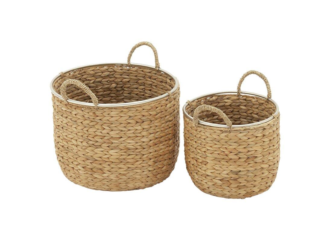 2 Piece Seagrass Basket Set