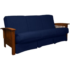 Grandview Futon and Mattress by Red Barrel S..