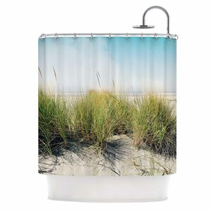 Dune Grass by Sylvia Cook Coastal Photography Shower Curtain