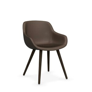 Igloo Upholstered Dining Chair by Calligaris