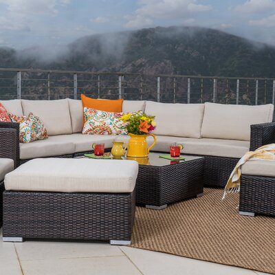 Modern 6 7 Person Outdoor Seating Sets Allmodern