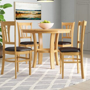 Himmel Dining Set With 4 Chairs