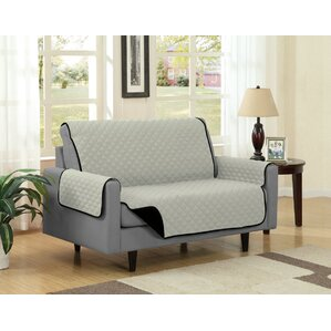 Box Cushion Loveseat Slipcover by Kashi Home