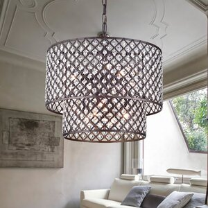 Cottonwood 8-Light Drum Chandelier