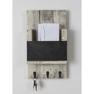 Sibeudu Mail Holder With Chalkboard And Hooks