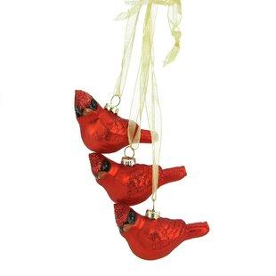 Excellent Red Cardinal Ornaments   Wayfair QW39