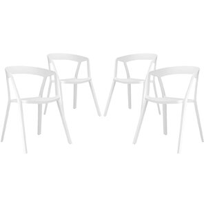 Tread Arm Chair (Set of 4) by Modway
