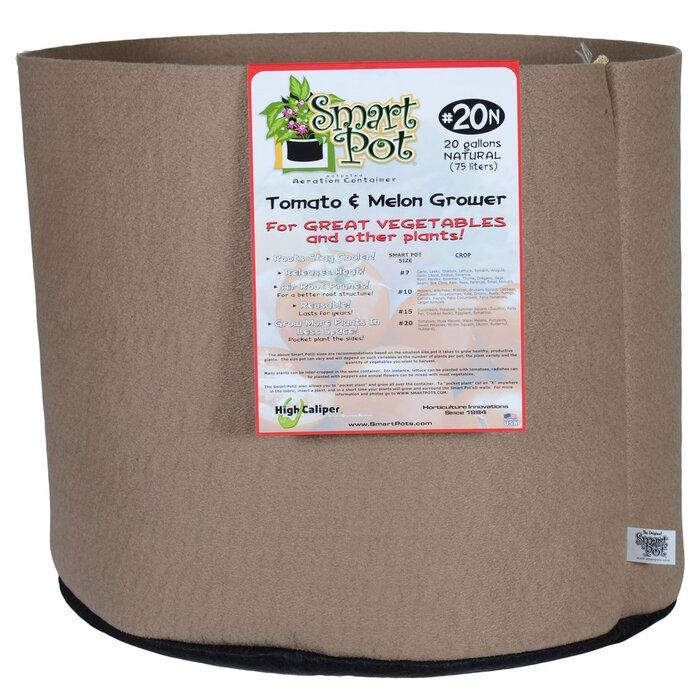 Smart Pot 20 Gallon Tomato & Melon Pot Planter & Reviews | Wayfair.ca