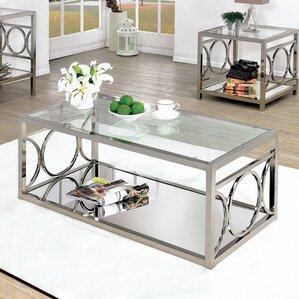 Glass Coffee Tables You\'ll Love | Wayfair