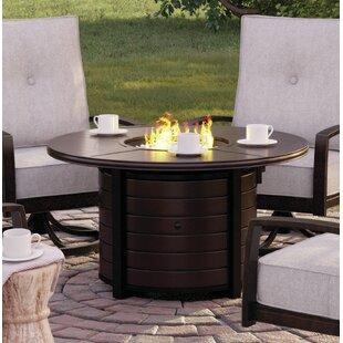 Luedtke Aluminum Propane Fire Pit Table