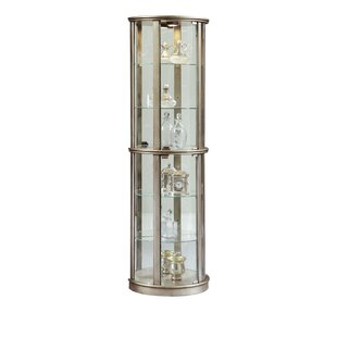 Gracelyn Lighted Curio Cabinet Looking for