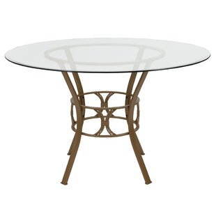 gold glass dining table designer italian glass quickview gold base dining table wayfair