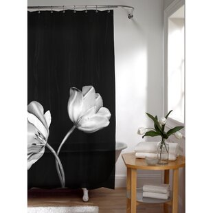 PEVA Tulip Photoreal Shower Curtain