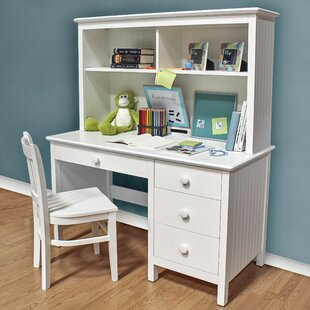 kids white desk with hutch wayfair rh wayfair com white desk hutch ikea white desk hutch cheap