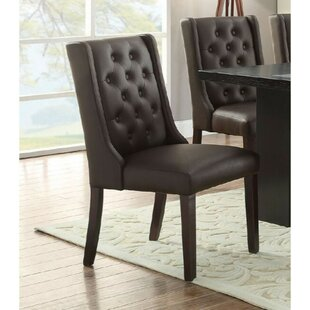 Rudnick Royal Upholstered Dining Chair (Set of 2)