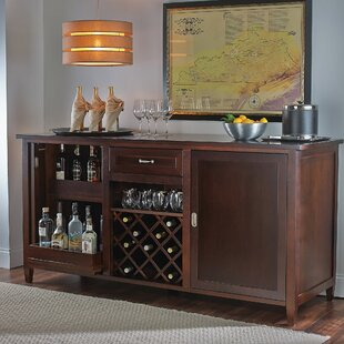Inspirational Bar Cabinet with Wine Cooler