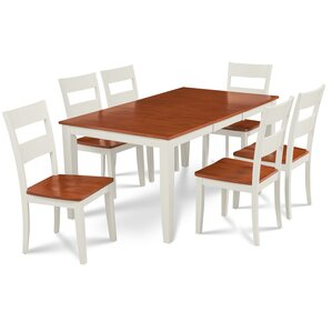 Charlestown 7 Piece Hardwood Dining Set by Alcot..
