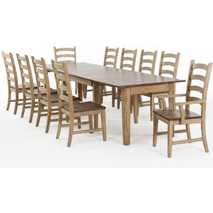 Huerfano Valley 11 Piece Dining Set by Loon Peak