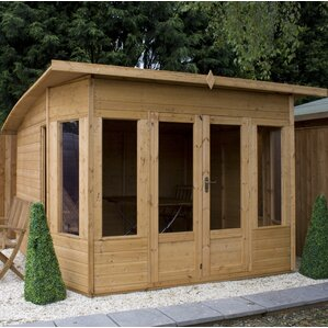 Shed 16x10 10 X Ft Helios Summer House