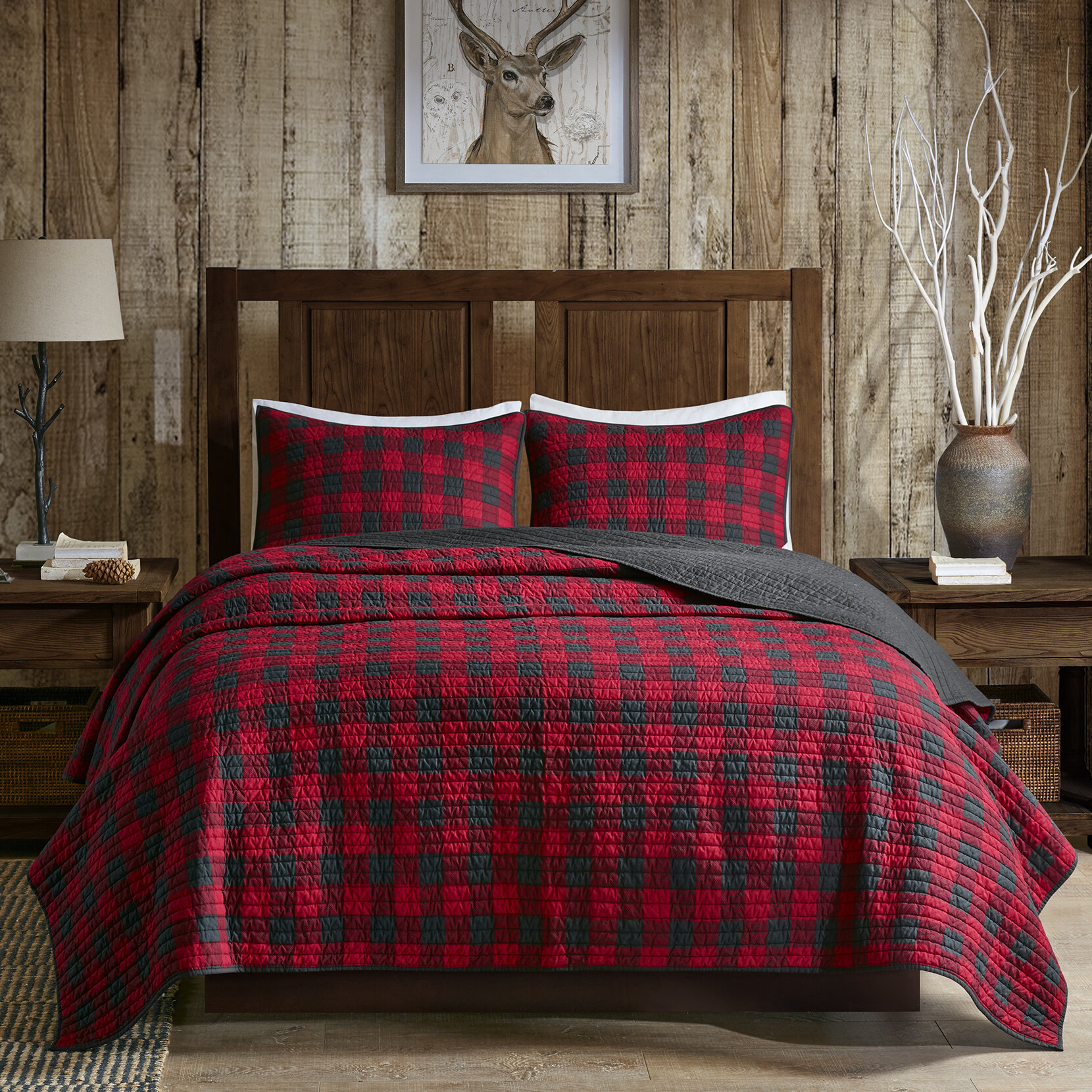Superbe Woolrich Woolrich Check 3 Piece Quilt Set U0026 Reviews | Wayfair