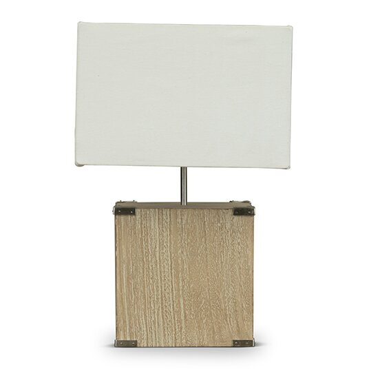 Wholesale Interiors Kostka 17 8 Table Lamp With Rectangular Shade