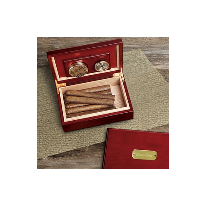 763fa55405b6 JDS Personalized Gifts Personalized Gift Wood Humidor   Reviews ...