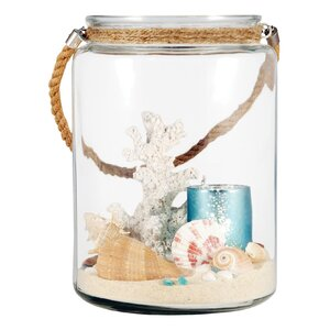 Marshville Lighting Glass Decorative Jar