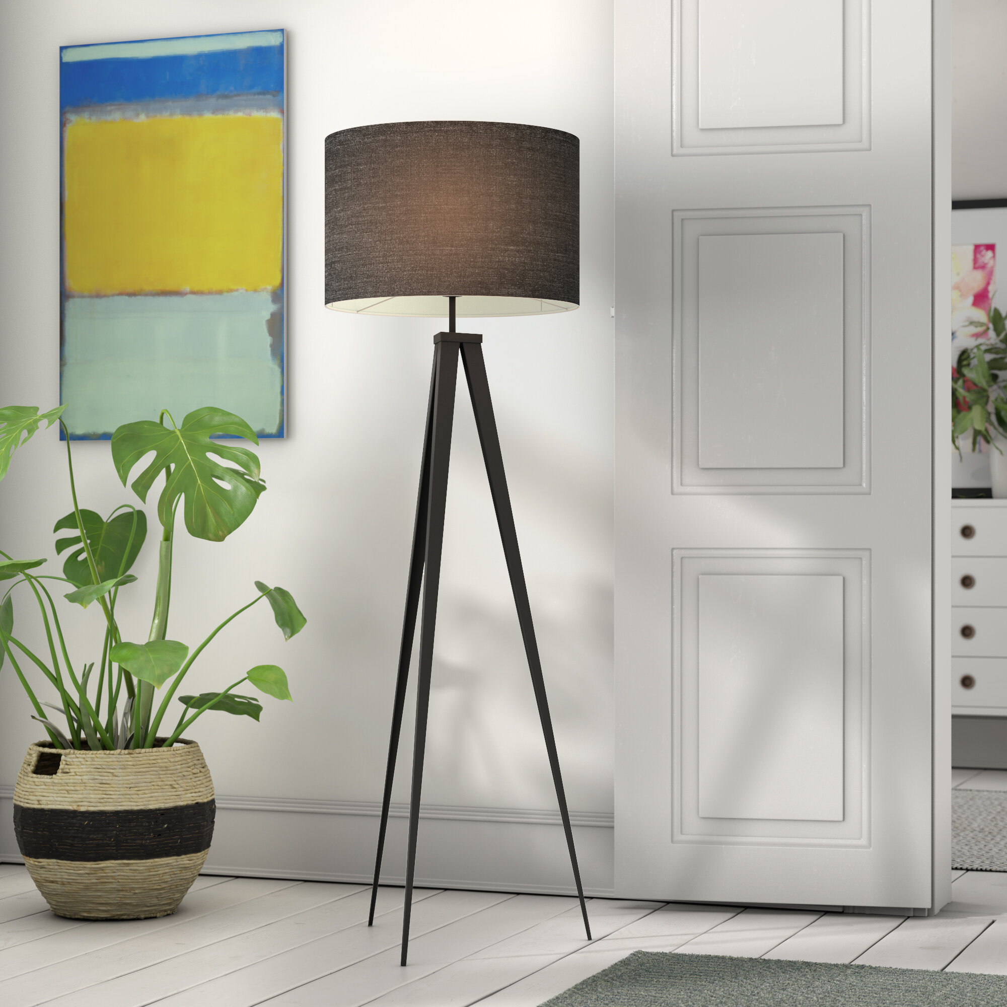 Romanza 157.5cm Tripod Floor Lamp