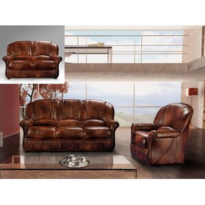 Brown 2 Piece Living Room Set by Noci Design