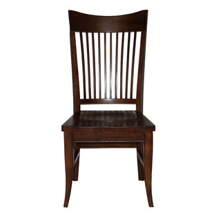 Lacon Curved Spindle Back Seat Solid Wood Dining Chair (Set Of 4)