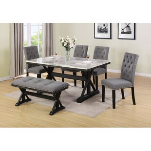 Lona 6 Piece Dining Set