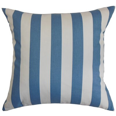 Birch Lane™ Heritage Knotts Indoor/Outdoor 100% Cotton Throw Pillow Color: Baby Blue, Size: 20 H x 20 W
