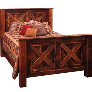 Reclaimed Barnwood Bed | Wayfair