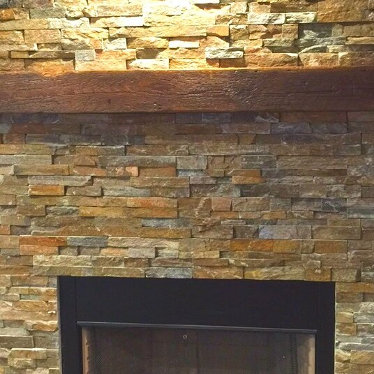 Reclaimed Barn Beam Fireplace Mantel Shelf Creative Hardwoods