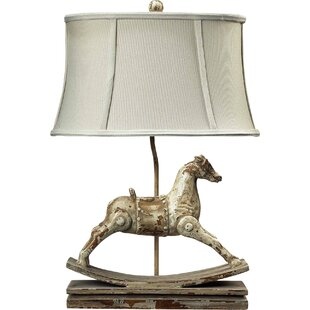 Horse table lamp wayfair elbert rocking horse 24 table lamp aloadofball Image collections