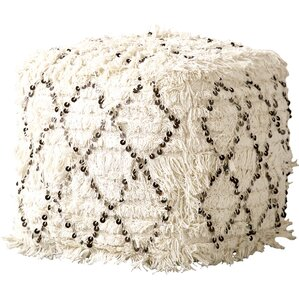 Moroccan Wedding Quilt Ottoman by Crea..