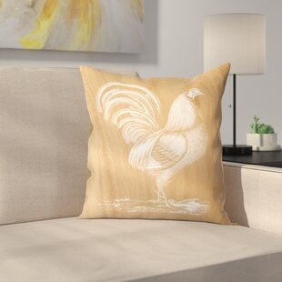 Beautiful French Country Rooster Pillows | Wayfair BY16