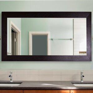 Bathroom Mirrors Under $50 black wall mirrors you'll love | wayfair