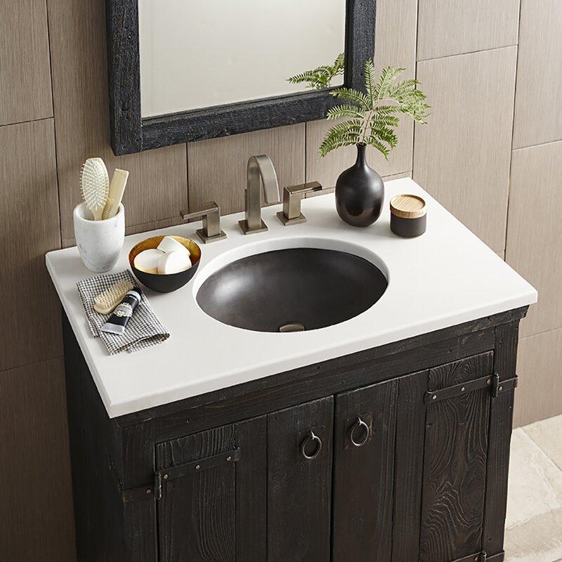 tolosa self rimming bathroom sink