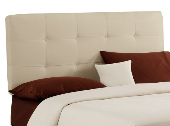 Wayfair Tufted Headboard Tufted Headboard In Bedroom: Skyline Furniture Double Button Tufted Upholstered Panel
