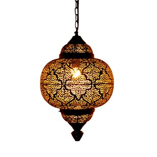 Moroccan lights wayfair moroccan 1 light mini pendant aloadofball Images