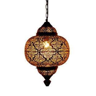Moroccan 1 Light Novelty Pendant