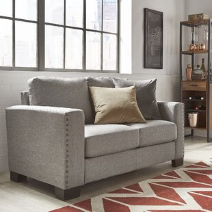Attractive Gray Sofa With Nailhead Trim | Wayfair