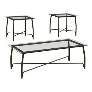 Mabrey 3 Piece Coffee Table Set